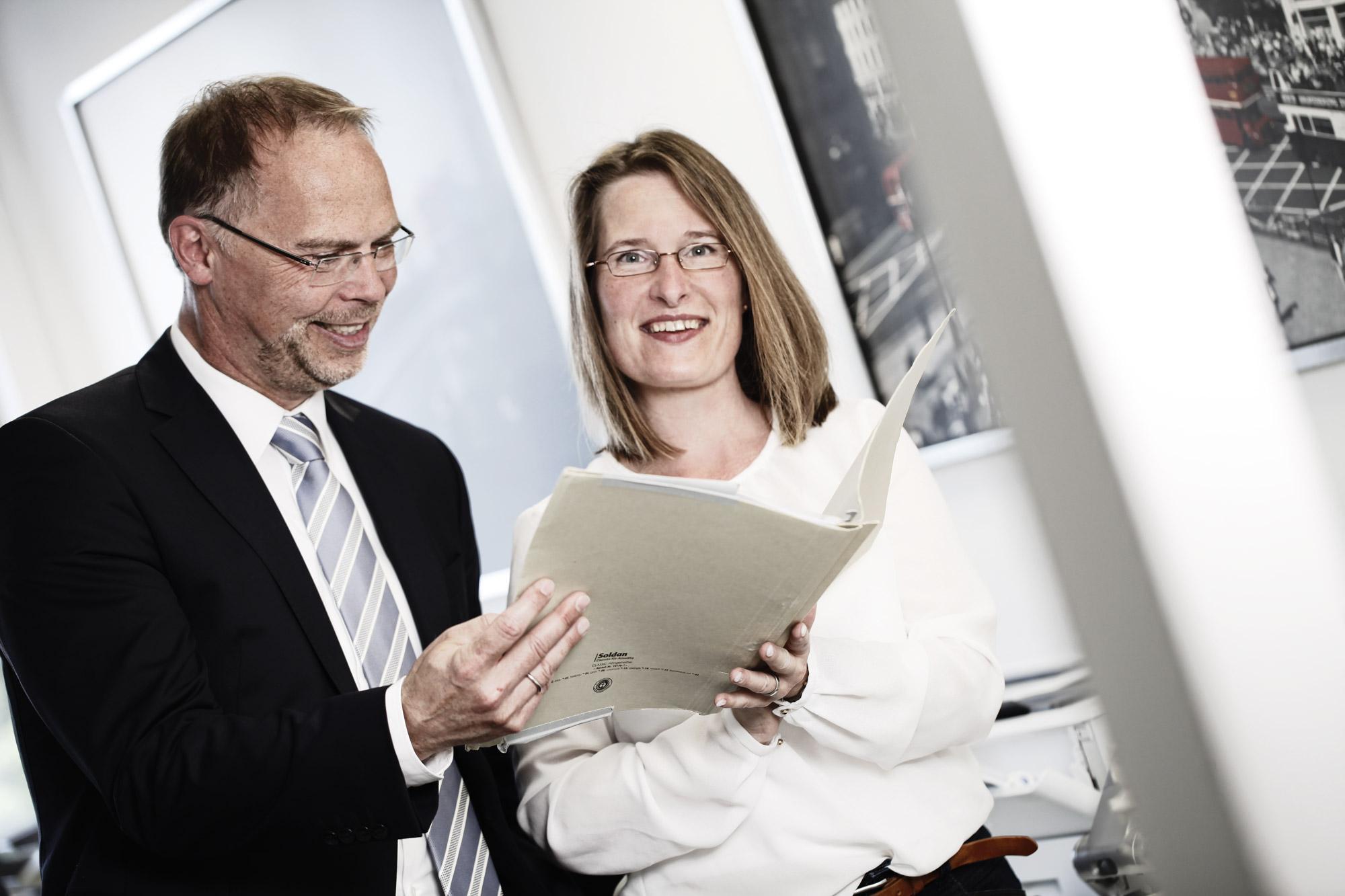 Günther Teuner und Désirée Kintscher